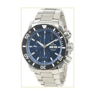Edox Men's 01115 3 BUIN Class 1 Automatic Stainless Steel Chrono Rotating Bezel Watch 並行輸入品