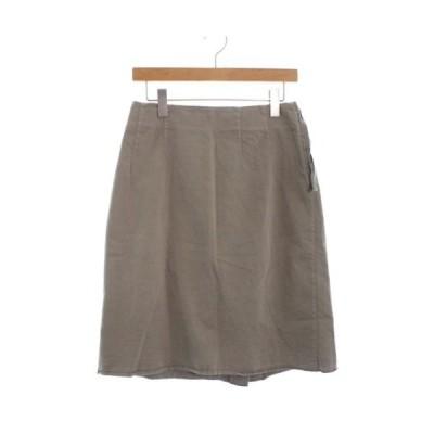 MM6 エムエムシックス ひざ丈スカート レディース