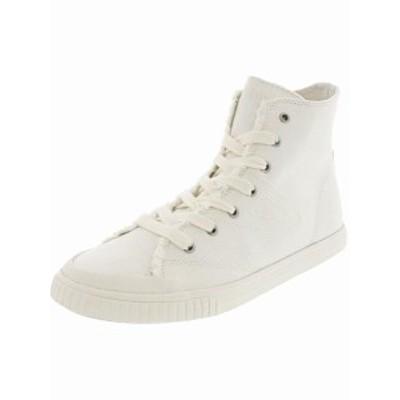 Tretorn トレトン スポーツ用品 シューズ Tretorn Womens Marley Hi Denim High-Top Canvas Fashion Sneaker