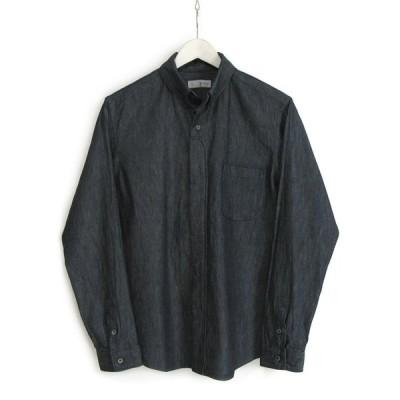 nisica(ニシカ)ボタンダウンシャツ(デニム)