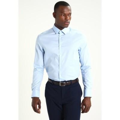ピアワン シャツ メンズ トップス Formal shirt - light blue