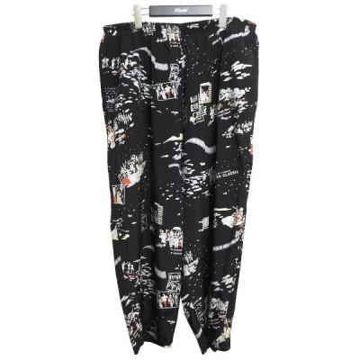 Porter Classic ALOHA CROPPED PANTS アロハクロップドパンツ ブラック サイズ:XXL (池袋店) 210516
