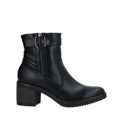 ガッティノーニ GATTINONI ショートブーツ ブラック 36 紡績繊維 ショートブーツ