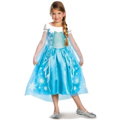 送料無料 アナと雪の女王 エルサ キッズ用 幼児用 衣装 Disney 仮装 ハロウィン ディズニー Frozen