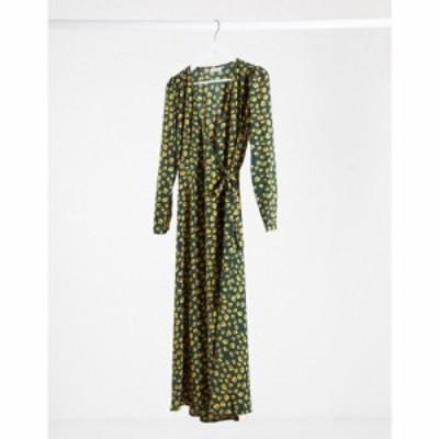 ミニマム Minimum レディース ワンピース ミドル丈 ワンピース・ドレス midi dress in spotty green グリーン