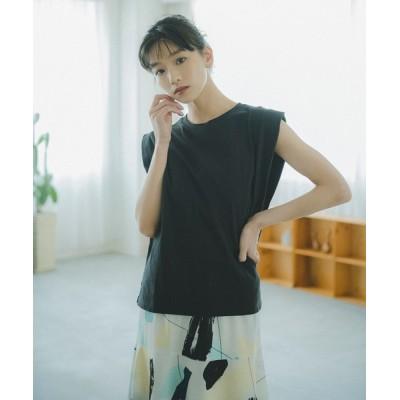 tシャツ Tシャツ ◆フレンチスリーブパワショルカットソー