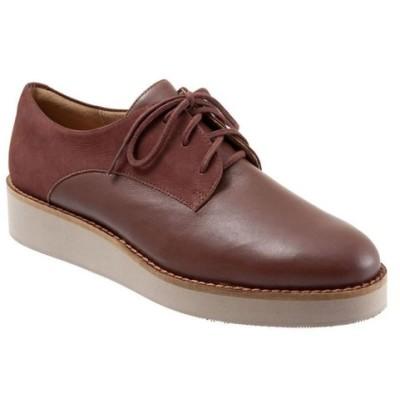 ソフトウォーク SoftWalk レディース ローファー・オックスフォード レースアップ シューズ・靴 Willis Lace Up Oxfords Cinnamon