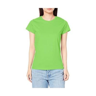 [ギルダン] プレミアムコットンレディース Tシャツ 76000L ライム 標準