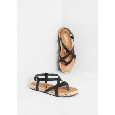 ブローフィッシュ Blowfish レディース サンダル・ミュール シューズ・靴 strappy-go-lucky sandal black