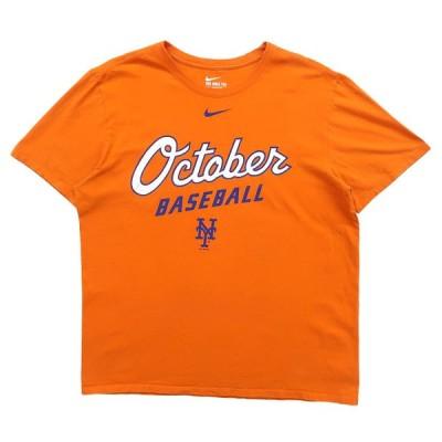 ナイキ NIKE プリントTシャツ オレンジ サイズ表記:L