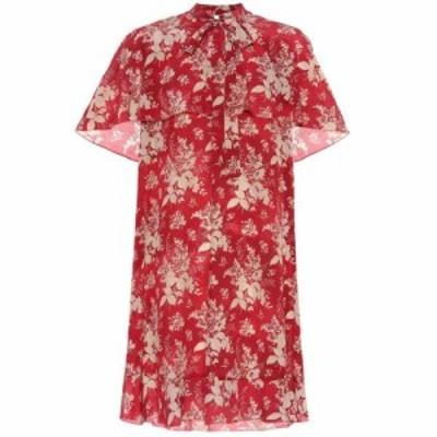 レッド ヴァレンティノ REDValentino レディース ワンピース ワンピース・ドレス Silk-georgette minidress Lacca