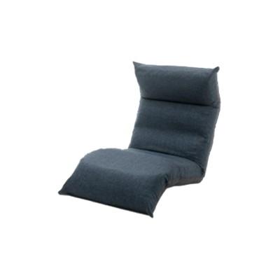 頭・背・脚部リクライニング式 6色から選べるリラックス座椅子