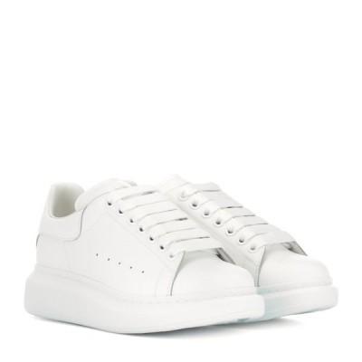アレキサンダー マックイーン Alexander McQueen レディース スニーカー シューズ・靴 leather sneakers White