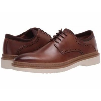Steve Madden スティーブマデン メンズ 男性用 シューズ 靴 オックスフォード 紳士靴 通勤靴 Daryll Oxford Tan Leather【送料無料】
