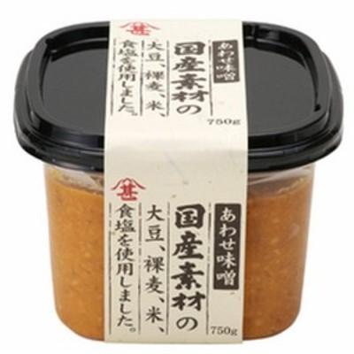 国産素材合わせ味噌 (750gカップ×6個入り) (216872) 【富士甚醤油】