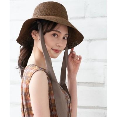 en recre / 【LE VERNIS】ラフィアハット WOMEN 帽子 > ハット