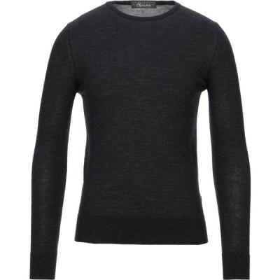 オビオスベーシック OBVIOUS BASIC メンズ ニット・セーター トップス sweater Steel grey