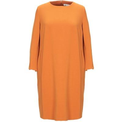 CA' VAGAN ミニワンピース&ドレス オークル S ポリエステル 62% / レーヨン 34% / ポリウレタン 4% ミニワンピース&ドレス