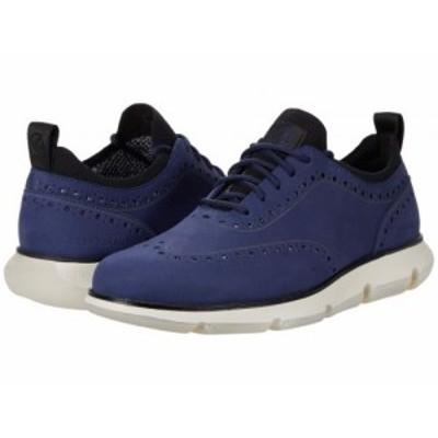 Cole Haan コールハーン メンズ 男性用 シューズ 靴 オックスフォード 紳士靴 通勤靴 4.Zerogrand Oxford Marine Blue【送料無料】
