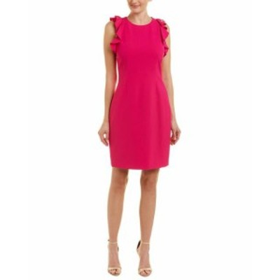 T Tahari T タハリ ファッション ドレス T Tahari Sheath Dress 10 Pink