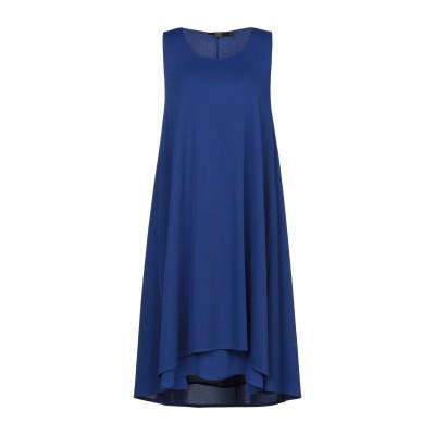 SEVENTY SERGIO TEGON ミニワンピース&ドレス ブルー 42 ポリエステル 94% / ポリウレタン 6% ミニワンピース&ドレス