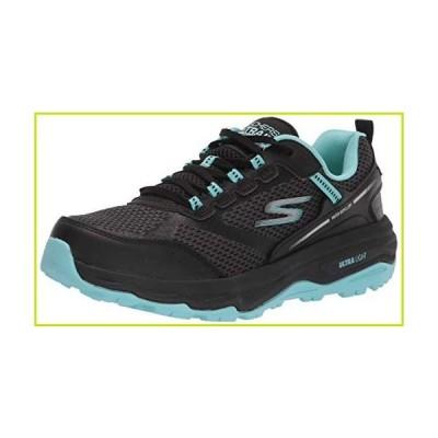 Skechers mens Sneaker, Black/Aqua, 7.5 US【並行輸入品】