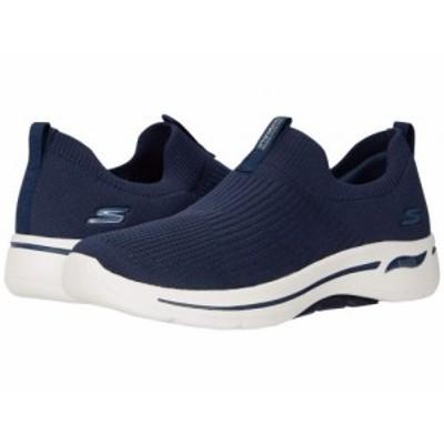 SKECHERS Performance スケッチャーズ レディース 女性用 シューズ 靴 スニーカー 運動靴 Go Walk Arch Fit 124409 Navy【送料無料】
