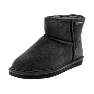 ブーツ ベアパウ Bearpaw  レディース Demi Ii High-Top スエード ブーツ Charcoal Black