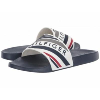 Tommy Hilfiger トミー ヒルフィガー メンズ 男性用 シューズ 靴 サンダル Emmy White Multi【送料無料】
