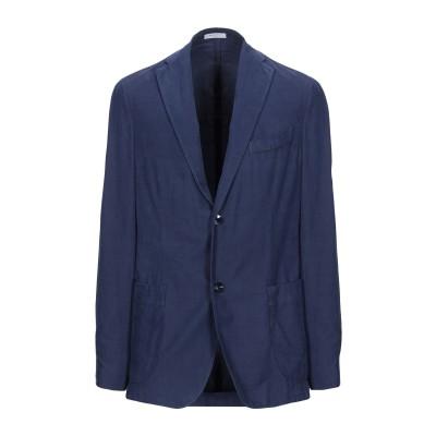 ボリオリ BOGLIOLI テーラードジャケット ブルー 52 コットン 100% テーラードジャケット