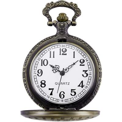 Morfong Men's Women's Quartz Pocket Watch Doctor Dr. Who Confession Pa(Morfongメンズレディースクォーツ懐中時計ドクタードクター・フー告白Paの)