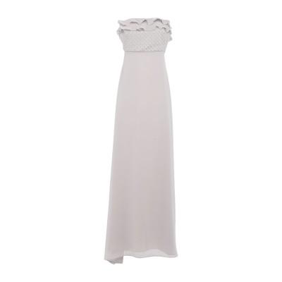 アレッサンドロデラクア ALESSANDRO DELL'ACQUA ロングワンピース&ドレス ライトグレー 42 ポリエステル 100% ロングワン
