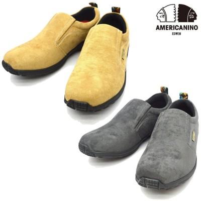 AMERICANINO EDWIN アメリカニーノ エドウィン AE886 モックカジュアル メンズ 靴 シューズ (nesh) (新品)