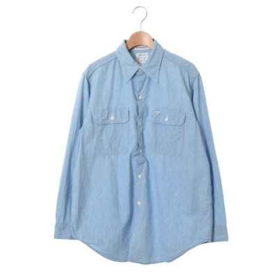 MADISONBLUE HAMPTON シャンブレーシャツ 1 ライトブルー マディソンブルー