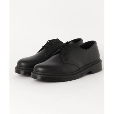 SHIPS / Dr.Martens: 3アイレット ブラックソール 1461 MEN シューズ > ブーツ