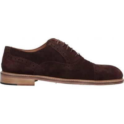 リチャード ラース RICHARD LARS メンズ 革靴・ビジネスシューズ シューズ・靴 Laced Shoes Cocoa
