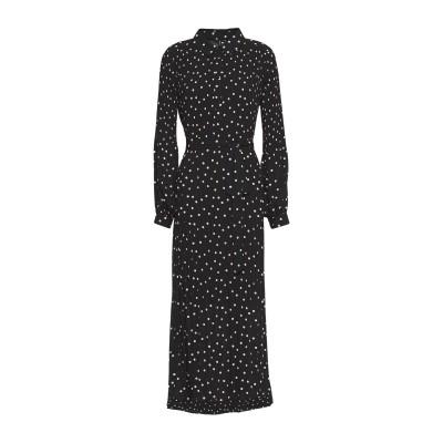 VERO MODA ロングワンピース&ドレス ブラック XS ポリエステル 100% ロングワンピース&ドレス