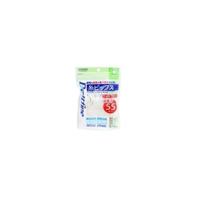 クリエイト/デントファイン 糸ピックス 55本入 ワイドフロス