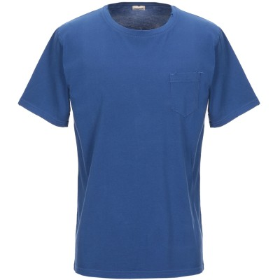 OFFICINA 36 T シャツ ブルー L コットン 100% T シャツ