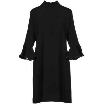 .AMEN. ミニワンピース&ドレス ブラック 46 レーヨン 67% / アセテート 31% / ポリウレタン 2% ミニワンピース&ドレス