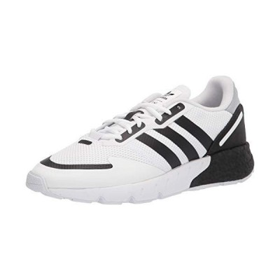 adidas Originals Men's ZX 1K Boost Sneaker, White/Black/Halo Silver, 14