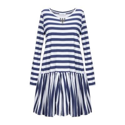 アリーニ AGLINI ミニワンピース&ドレス ブルー 42 コットン 100% ミニワンピース&ドレス
