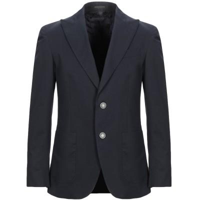 メッサジェリエ MESSAGERIE テーラードジャケット ダークブルー 50 コットン 97% / ポリウレタン 3% テーラードジャケット