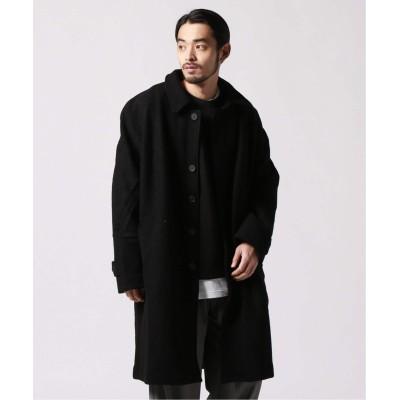 メンズ ジャーナルスタンダード レリューム 【SCHNAYDERMANS / シュナイダーマンズ】Coat Oversized Structured ブラック M