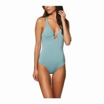 オニール ワンピース Salt Water Solids One Piece Bathing Suit Aqua Haze