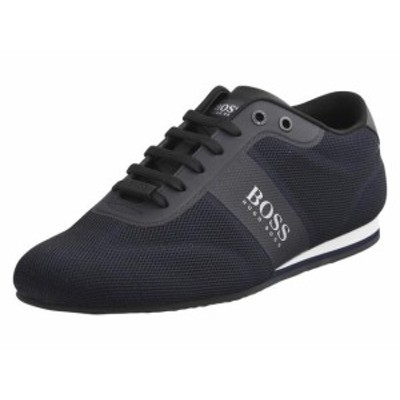 BOSS ボス ファッション シューズ Hugo Boss Mens Lighter Low-Top Trainers Sneakers Shoes