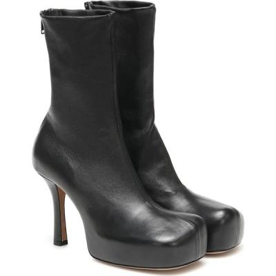 ボッテガ ヴェネタ Bottega Veneta レディース ブーツ ショートブーツ シューズ・靴 bv bold leather ankle boots Black