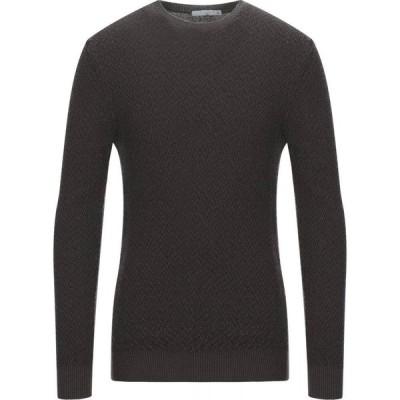 チルコロ1901 CIRCOLO 1901 メンズ ニット・セーター トップス sweater Dark brown