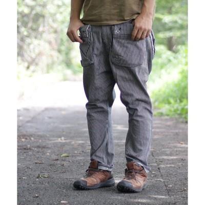 パンツ デニム ジーンズ 【ネイタルデザイン】G55 サルエルフラップデニム ヒッコリー/ G55 Sarouel Flap Denim Pants