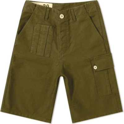 ブルー ドゥ パナム Bleu de Paname メンズ ショートパンツ ボトムス・パンツ 10 Yeas Short Military Khaki